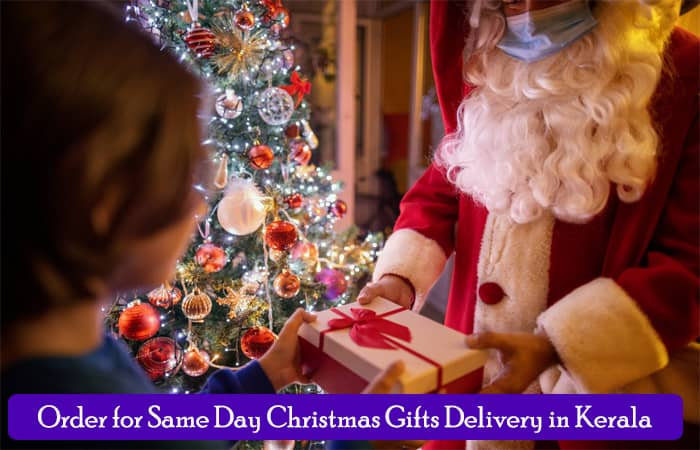 Order for Same Day Christmas Gifts Delivery in Kerala