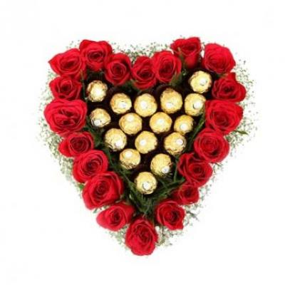 Ferrero Rocher In Heart