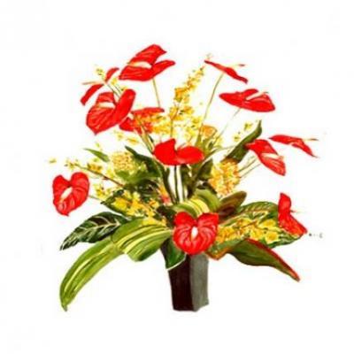 Anthurium Vase