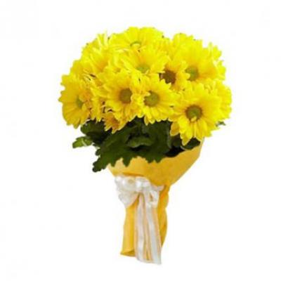 Yellow Gerbera Bouquet