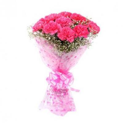 Pink Carnation Bouquet