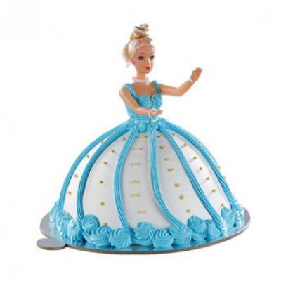 Barbie Doll Cake Strawberry