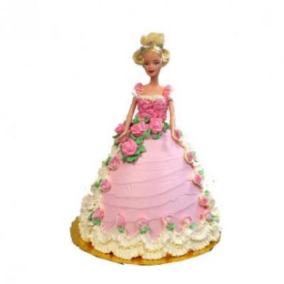 Barbie Doll Cake Black Forest