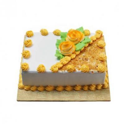 Butter Scotch Cake Square