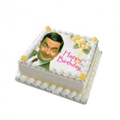 Mr Bean Photo Cake