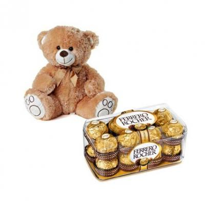 Ferrero Rocher With Teddy