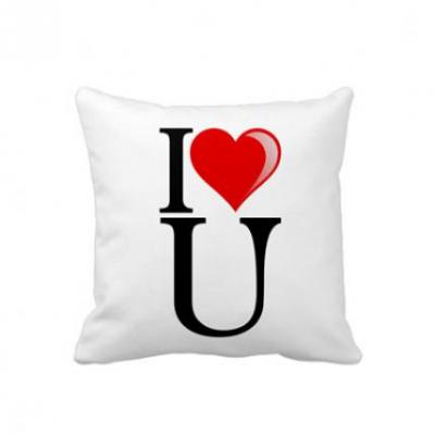 I Love U Cushion