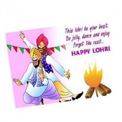 Lohri Card