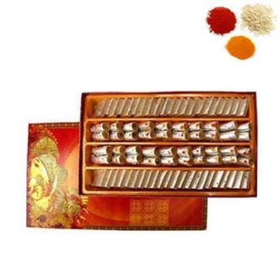 Bhai Dooj Rolli Tikka With Sweets