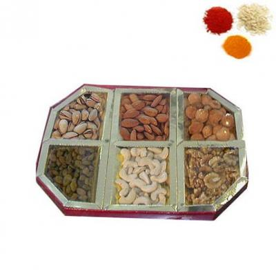 Bhai Dooj Rolli Tikka With Dry Fruits
