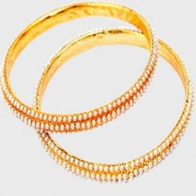 Perfect Pearl Bangles