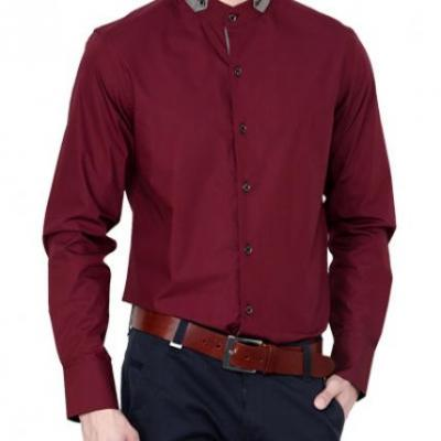 Maroon Shirt