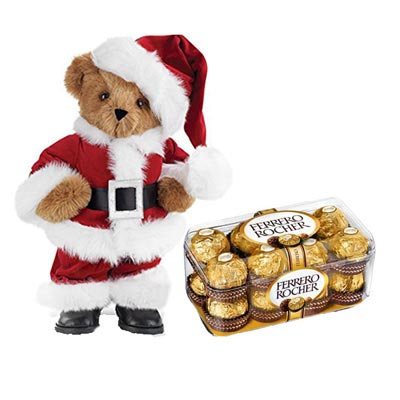Santa Claus With Ferrero Rocher