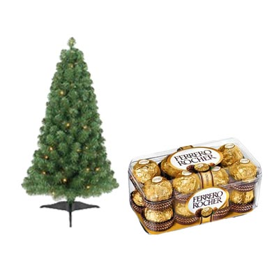 Christmas Tree With Ferrero Rocher
