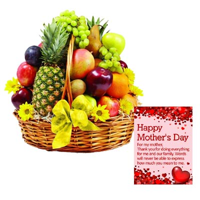 Exclusive Mothers Day Fruits Big Basket