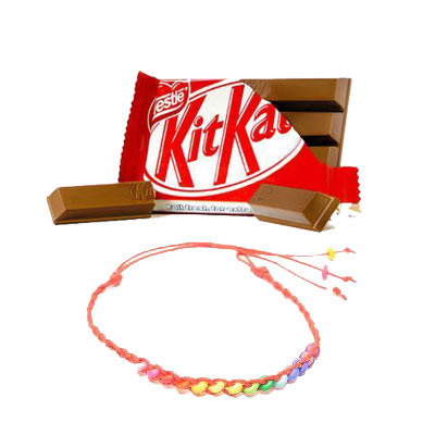 Kitkat With Friendship Band