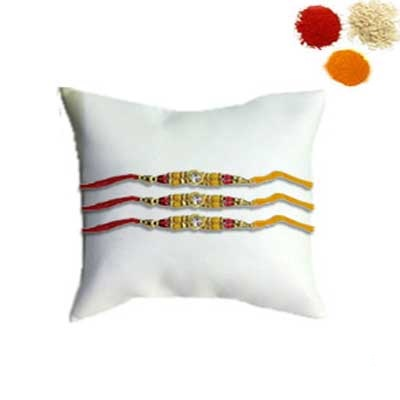 3 Fancy Rakhi Set