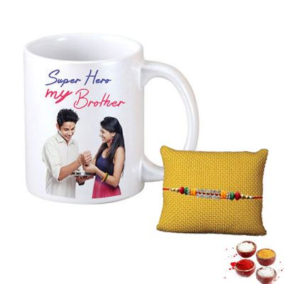 Mug For Brother With Rakhi