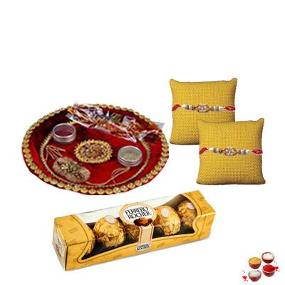 Rakhi Thali With FerreroRakhi Thali With Ferrero