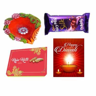Kaju Katli and Chocolate Combo