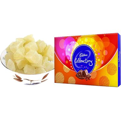 Dry Petha With Cadbury Celebration