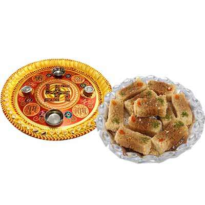 Thali with Milk Cake Pack