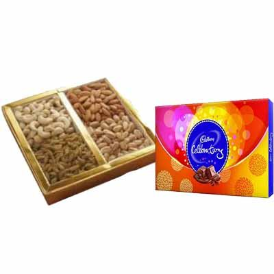 Mixed Dry Fruits with Celebration