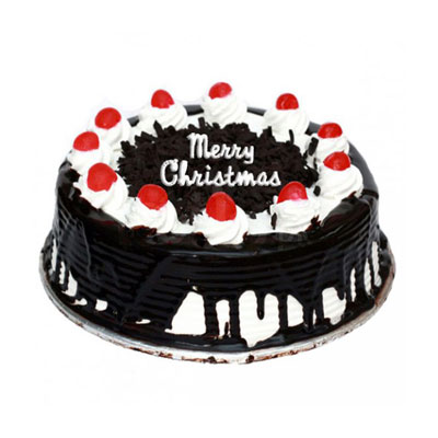 Christmas Black Forest Cake