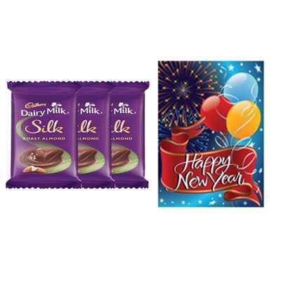 Cadbury Silk with Card