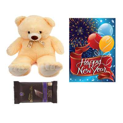Bournville Chocolates, Card & Teddy Bear