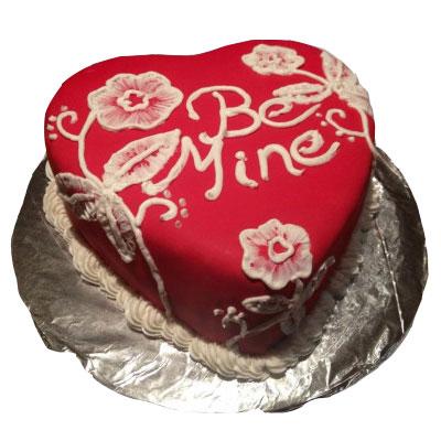 Be Mine Valentine Cake