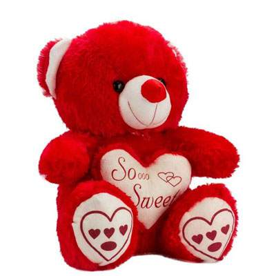 12 Inch Red Teddy Bear