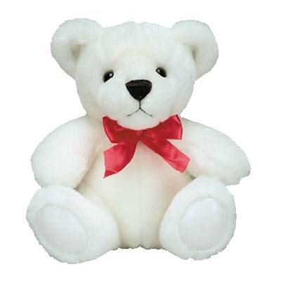 24 Inch White Teddy Bear