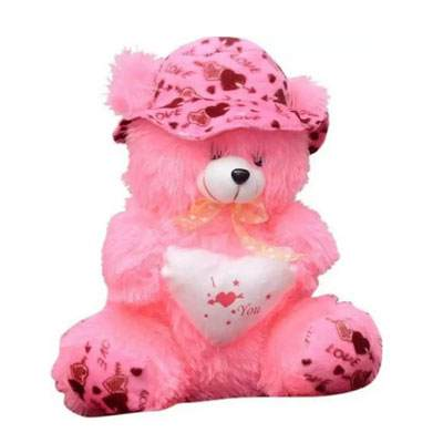 30 Inch I Love You Pink Teddy Bear