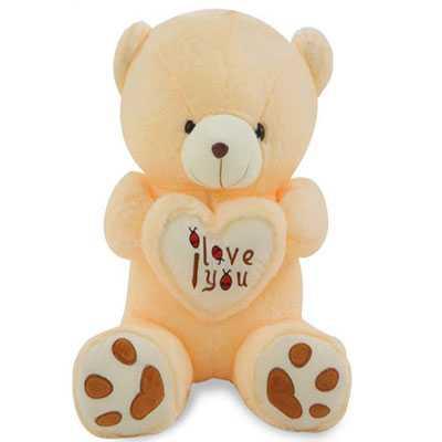 I Love You Creamy Big Teddy Bear