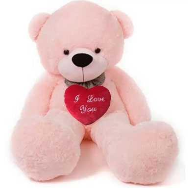 I Love You Pink Big Teddy Bear