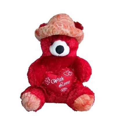 Red Teddy Bear 24 Inch