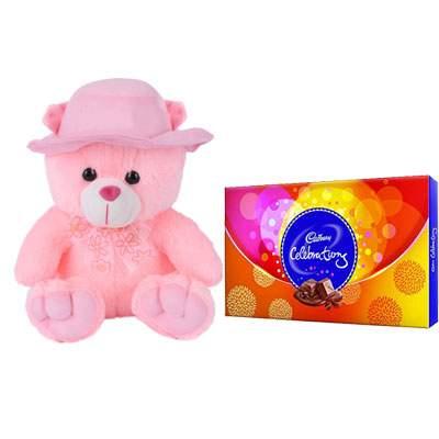 16 Inch Teddy Bear & Celebration