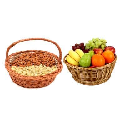 Almonds, Cashew & Mix Fruits Basket
