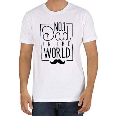 No 1 Dad Tshirt