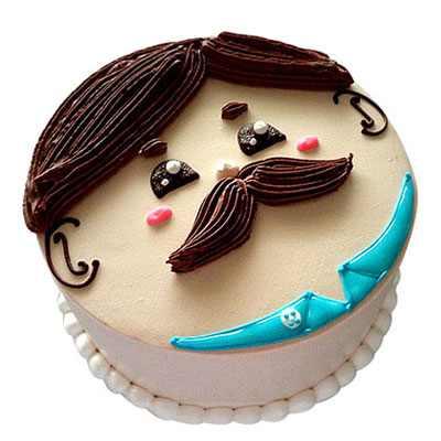 My Loving Dad Cream Cake