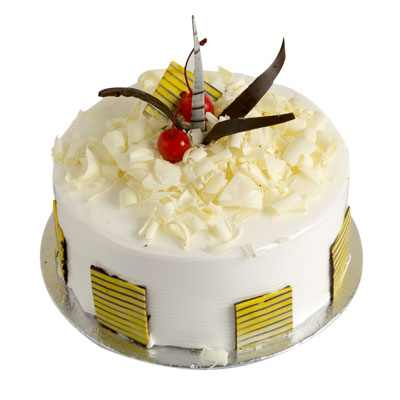 Yummy White Forest Cake