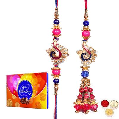Lumba Rakhi For Brother Bhabi With Celebration