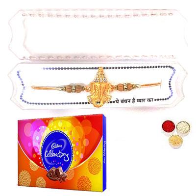 Shri Ganesha Rakhi With Celebration