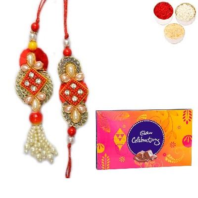 Designer Bhaiya Bhabhi Rakhi & Celebration