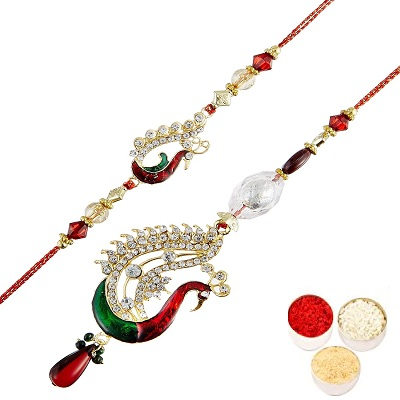 Unusual Lumba Rakhi Set