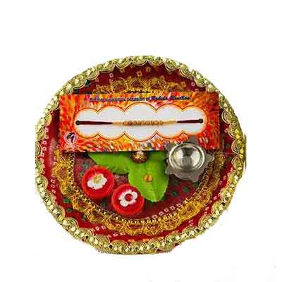 Beautiful Rakhi Thali