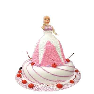 Baby Doll Cream Cake
