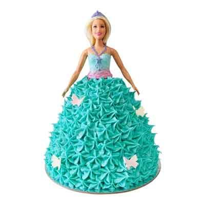 Butterfly Barbie Doll Cake