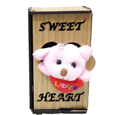 Sweet Heart Teddy in Almirah